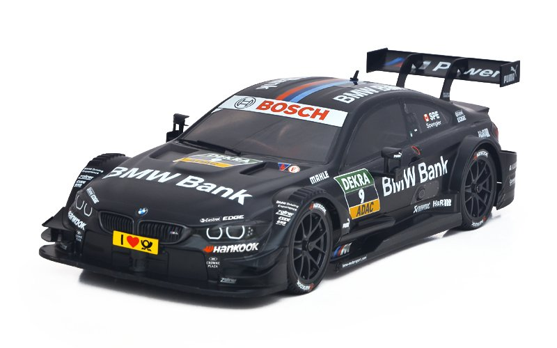 Image 0 of Christmas Specials Carisma GT10RS Brushless 1/10 4WD BMW #9 Black DTM RTR