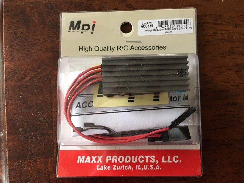 Image 0 of Voltage regulator MK3 adj 5-6.5 volts for lithium