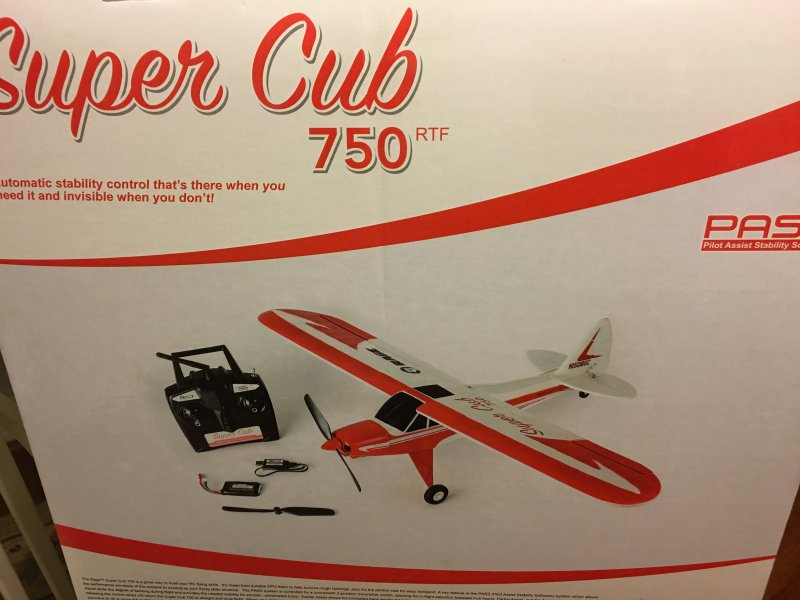 Image 7 of Super Cub 750 RTF 4-Channel Aircraft
