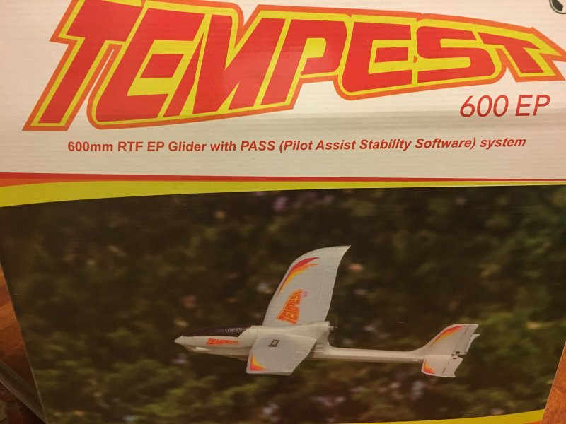 Image 3 of Tempest 600 EP RTF Aircraft