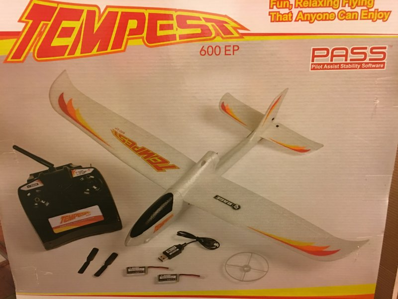 Image 4 of Tempest 600 EP RTF Aircraft