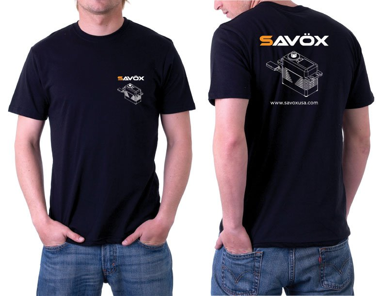 Image 0 of Savox Black T-Shirt XX-Large