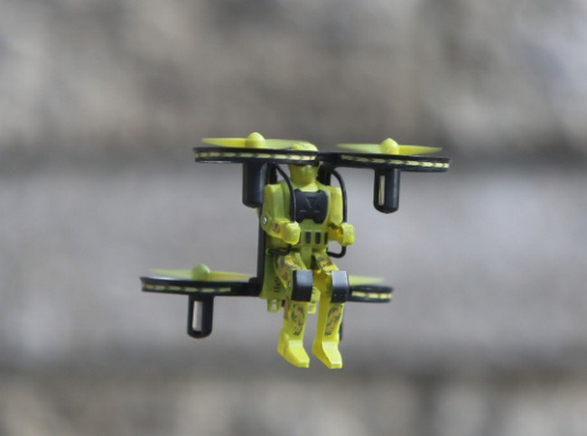 Image 2 of Rage Jetpack Commander RTF Quad-Camo Green