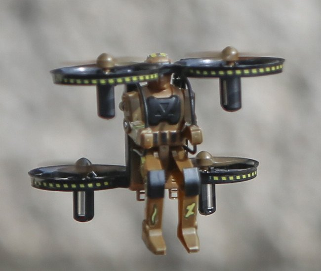 Image 2 of Rage Jetpack Commander RTF Quad-Camo Brown