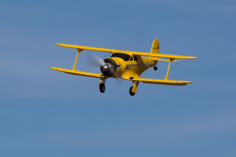 Image 1 of Beechcraft Model 17 Staggerwing Micro RTF