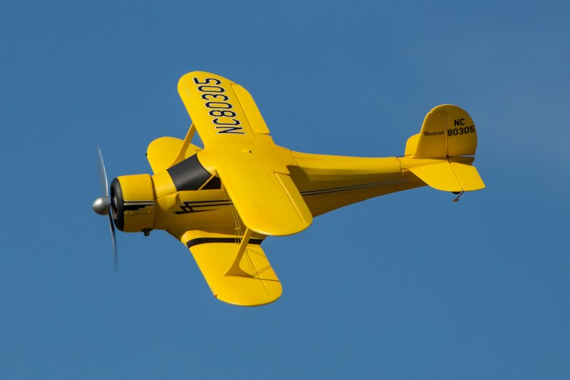 Image 4 of Beechcraft Model 17 Staggerwing Micro RTF