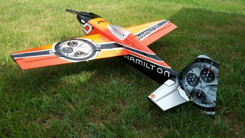 Image 0 of Pilot 30% 50cc size Hamilton RTF just add receiver