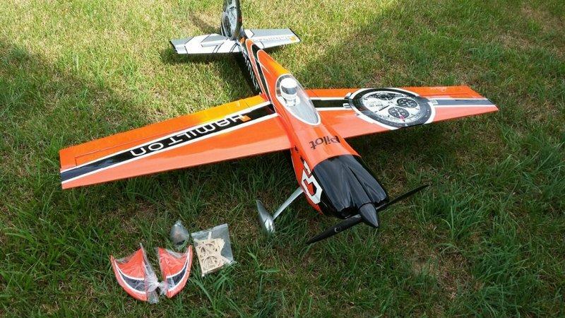 Image 1 of Pilot 30% 50cc size Hamilton RTF just add receiver