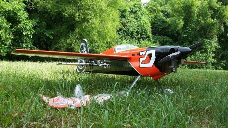 Image 2 of Pilot 30% 50cc size Hamilton RTF just add receiver