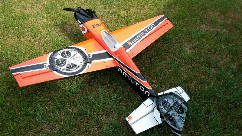 Image 4 of Pilot 30% 50cc size Hamilton RTF just add receiver