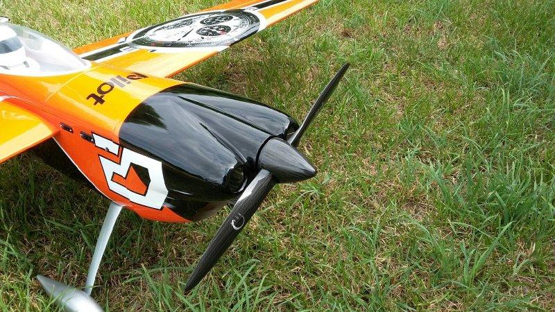 Image 5 of Pilot 30% 50cc size Hamilton RTF just add receiver