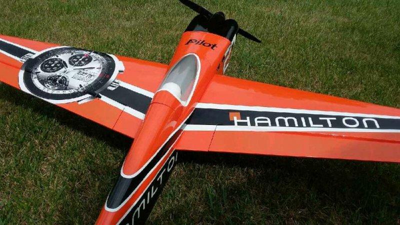 Image 6 of Pilot 30% 50cc size Hamilton RTF just add receiver