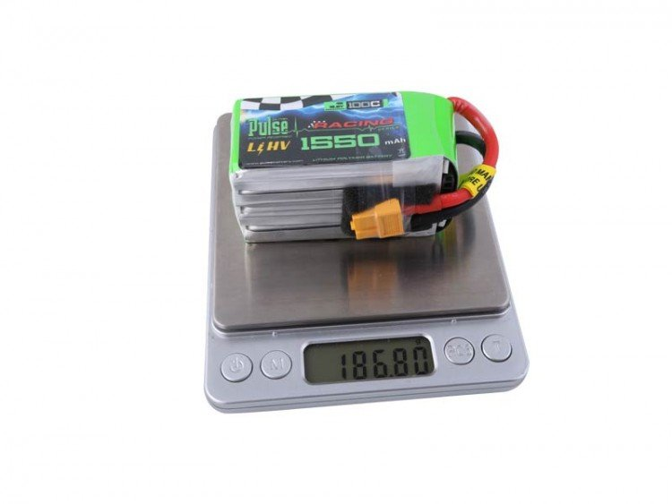 Image 3 of PULSE 1550mah 4S 15.2V 100C - LiPo Battery With Removable Balance Wires