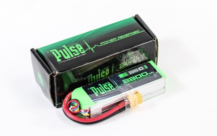 Image 0 of PULSE 2200mAh 3S 11.1V 25C LiPo Battery
