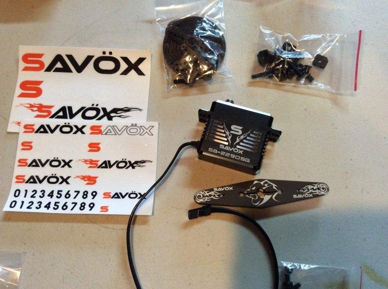 Image 14 of Savox 2290SG Monster Torque Brushless Servo, Black Edition .13sec / 694.4oz 7.4