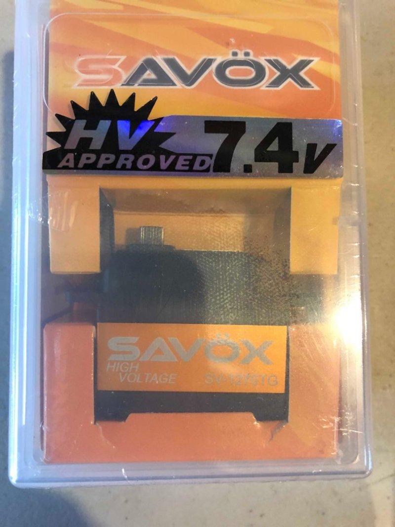 Image 9 of Savox 2290SG Monster Torque Brushless Servo, Black Edition .13sec / 694.4oz 7.4