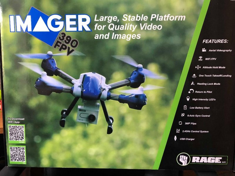 Image 5 of Rage Imager 390 FPV RTF Drone