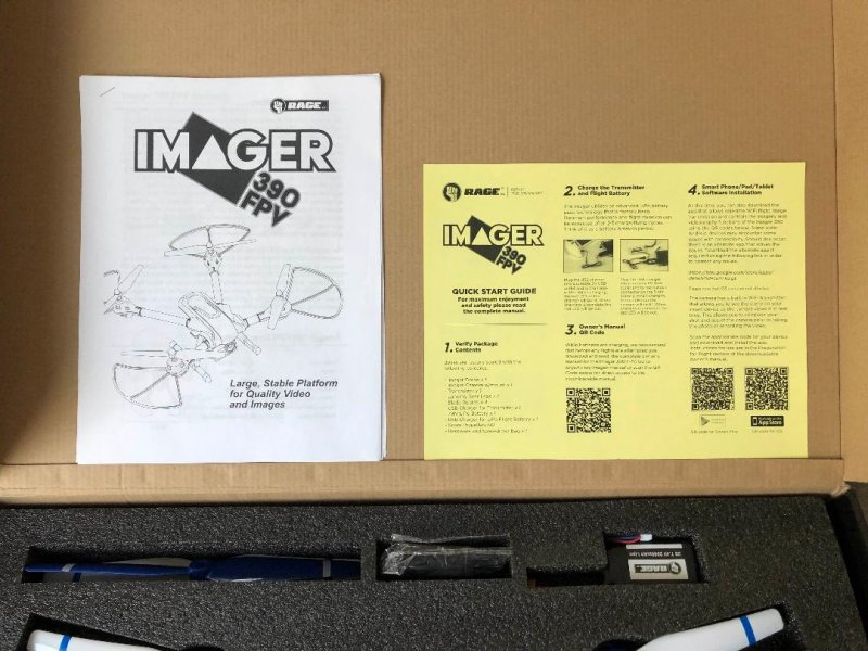 Image 11 of Rage Imager 390 FPV RTF Drone