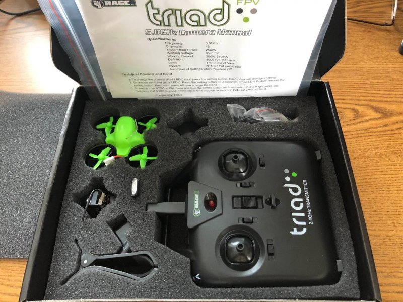 Image 4 of Rage Triad FPV 3-in-1 Pocket Drone