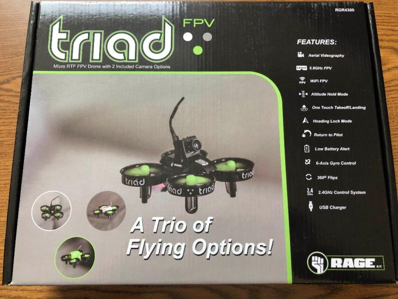 Image 5 of Rage Triad FPV 3-in-1 Pocket Drone