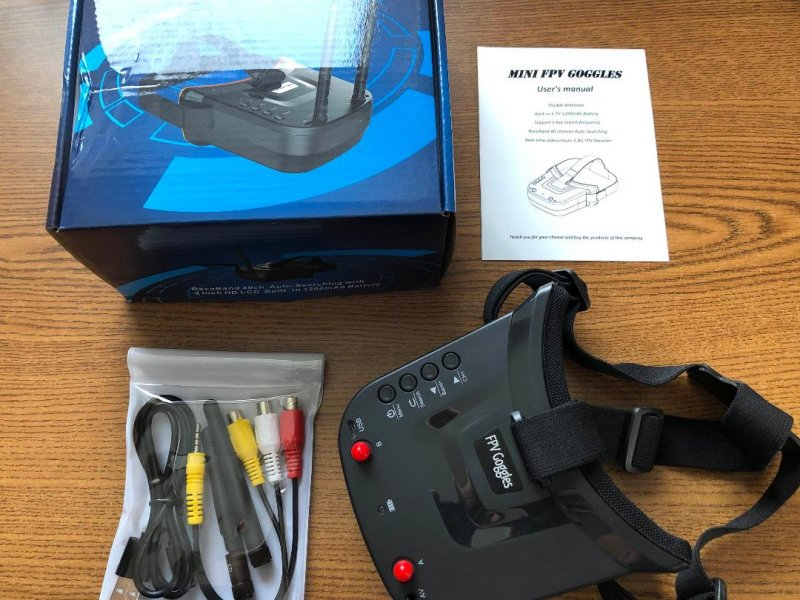 Image 3 of Universal 5.8GHz FPV Goggles