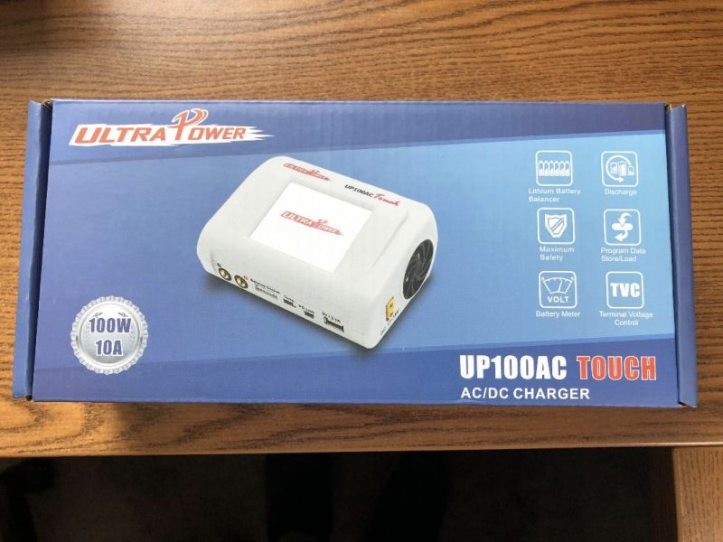 Image 0 of Ultra Power UP100AC Touch 100W Multi- Chemistry AC/DC Charger