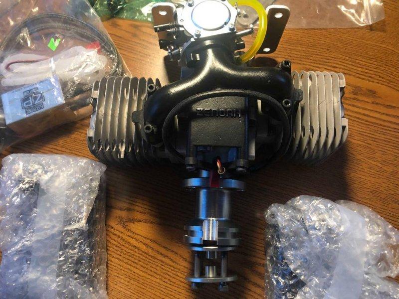 Image 1 of Zenoah GT80 Electronic ignition prefect running exactly 10 flights