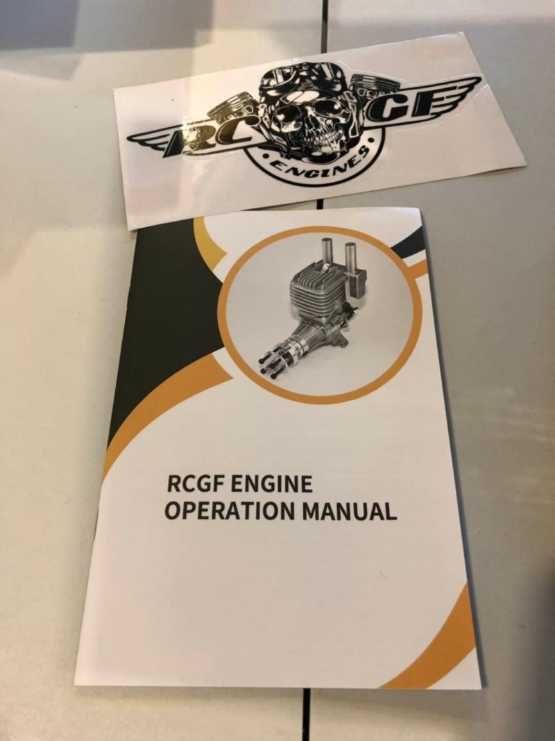 Image 5 of RCGF 30CC TWIN Cylinder  Gas Engine (New Stinger version)