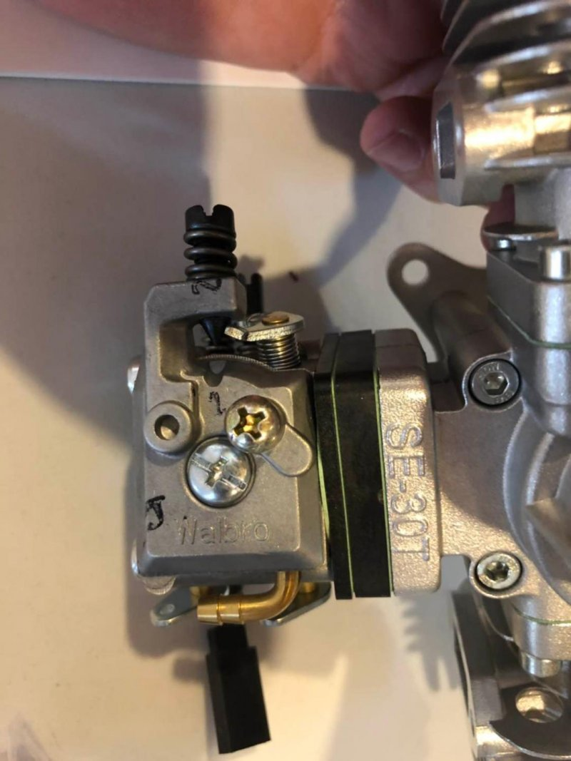 Image 2 of RCGF 30CC TWIN Cylinder  Gas Engine (New Stinger version)