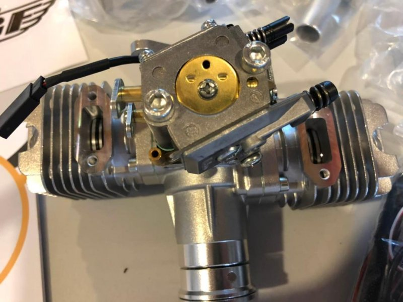 Image 3 of RCGF 30CC TWIN Cylinder  Gas Engine (New Stinger version)