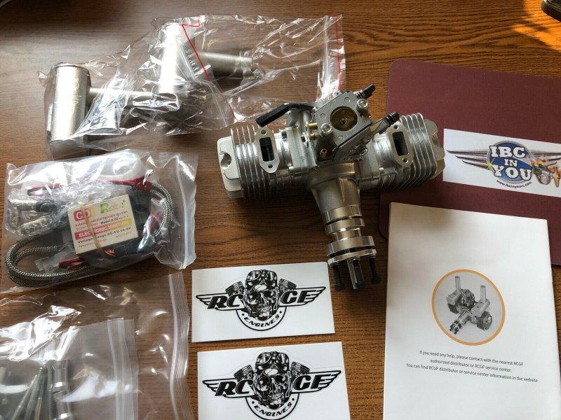 Image 0 of RCGF 40T Stinger TWIN Gas Engine