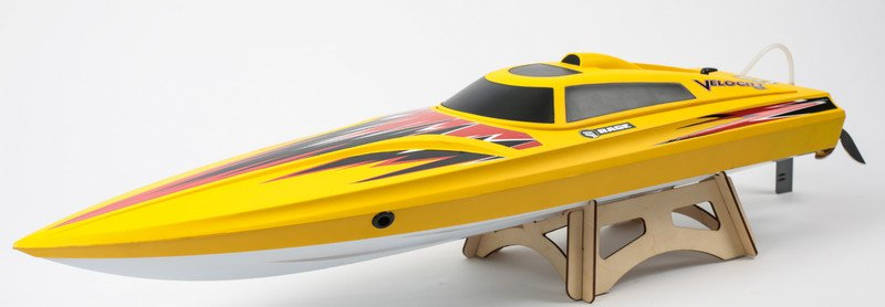 Image 4 of Rage Velocity 800 BL Brushless Deep Vee Offshore Boat, RTR