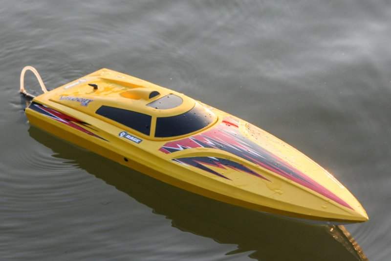 Image 5 of Rage Velocity 800 BL Brushless Deep Vee Offshore Boat, RTR