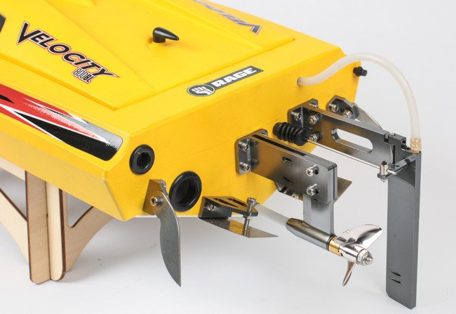 Image 6 of Rage Velocity 800 BL Brushless Deep Vee Offshore Boat, RTR