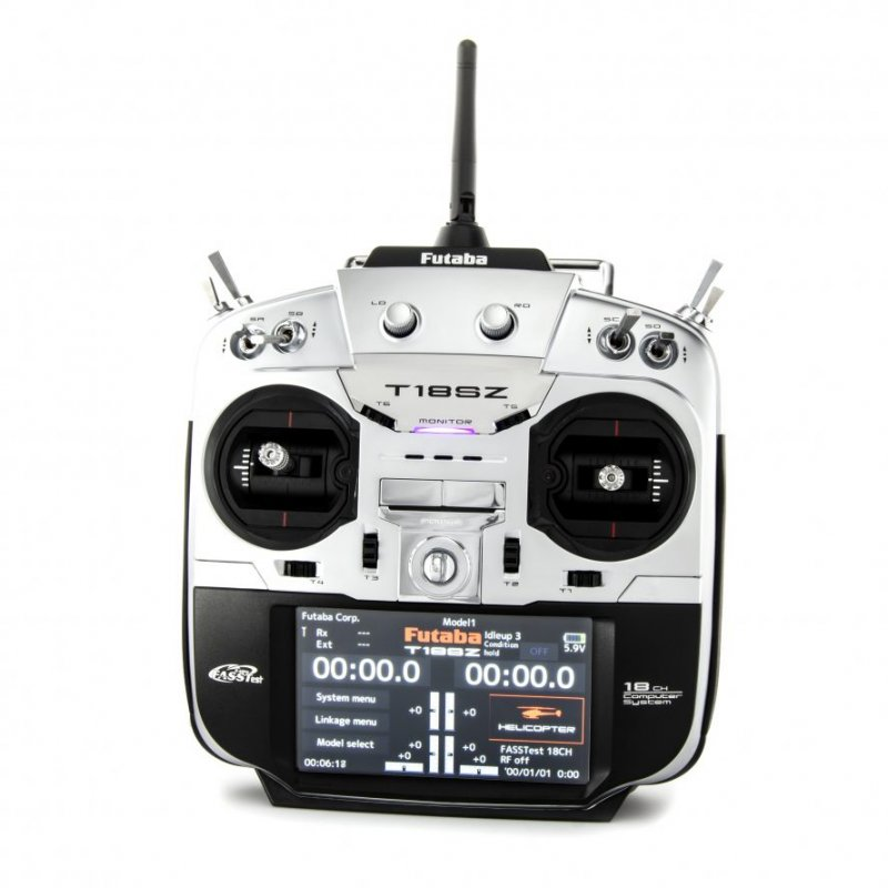 Image 0 of Futaba 18SZ A 2.4GHz FASST Aircraft Spec Radio System w/R7014SB Receiver