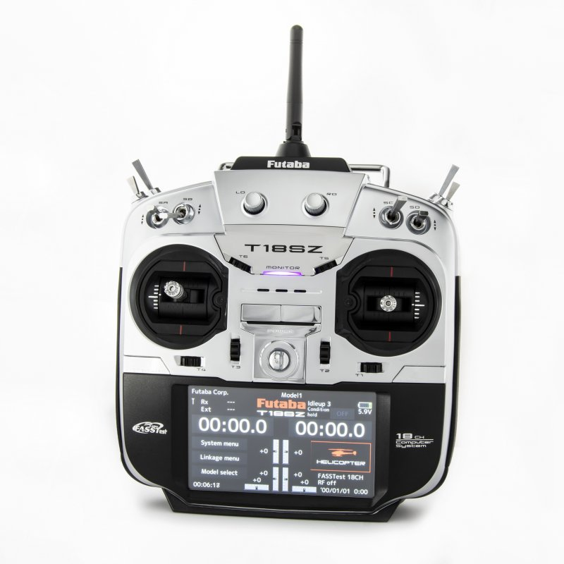 Image 0 of Futaba 18SZA 2.4GHz FASST Airplane Spec Radio System w/ R7008SB Receiver