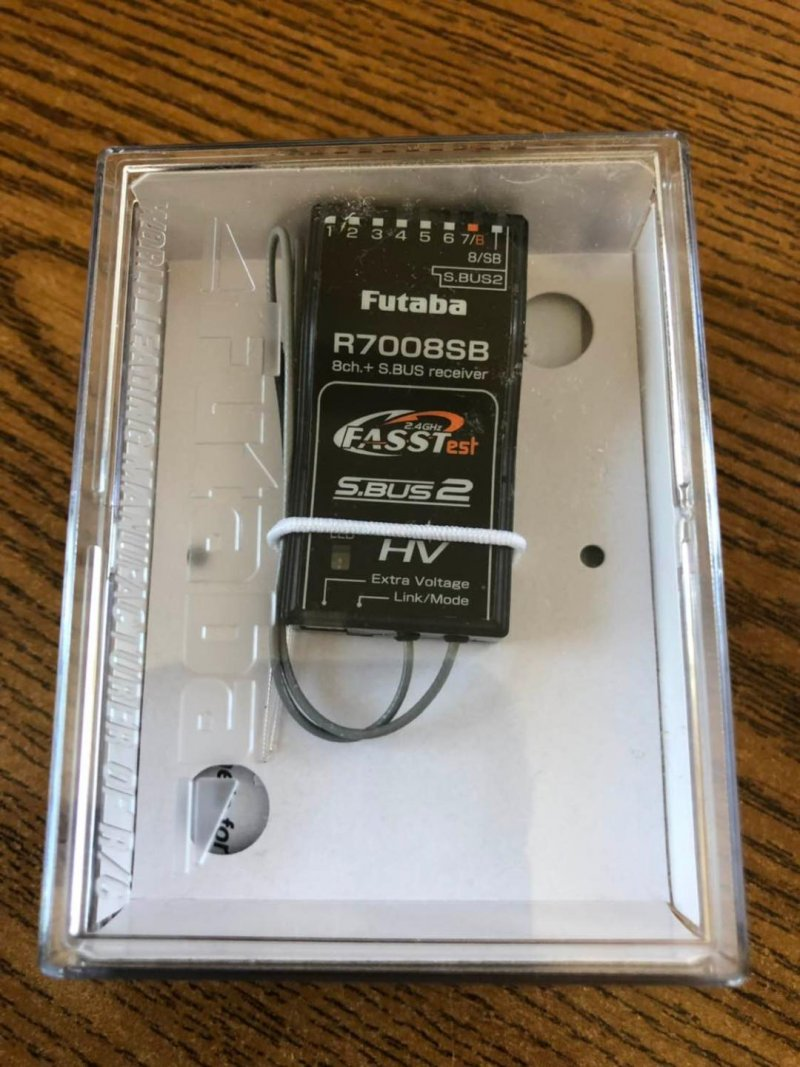 Image 1 of Futaba 18SZA 2.4GHz FASST Airplane Spec Radio System w/ R7008SB Receiver