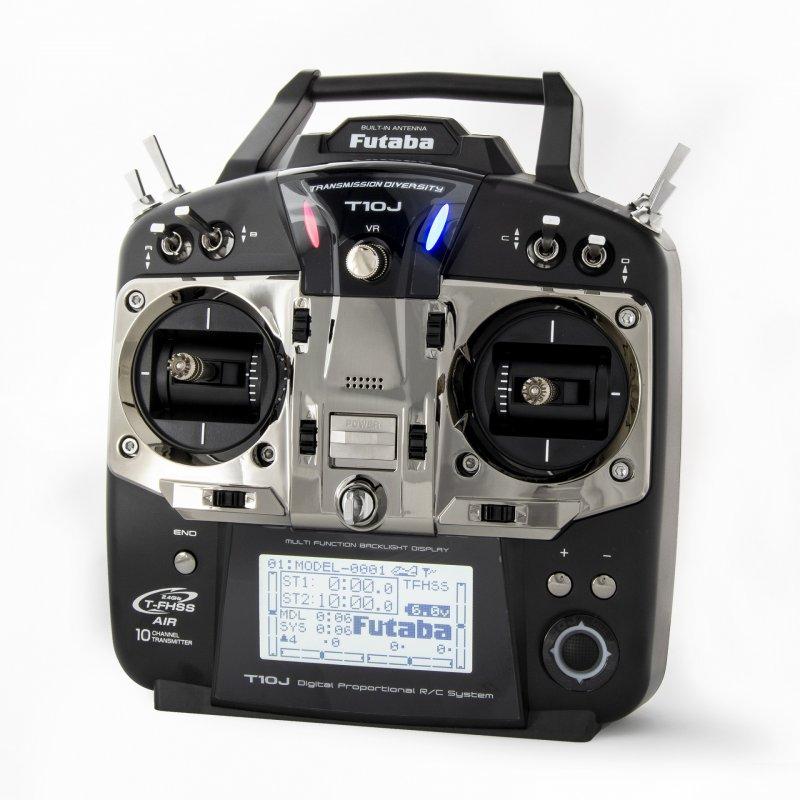 Image 4 of Futaba T10JA 2.4GHz T-FHSS Airplane Spec Radio System w/ R3008SB Receiver