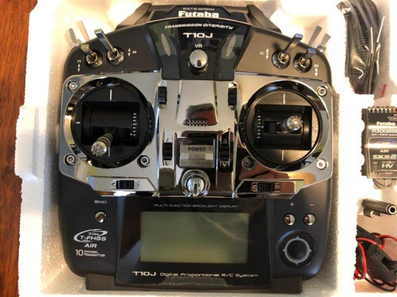 Image 0 of Futaba T10JA 2.4GHz T-FHSS Airplane Spec Radio System w/ R3008SB Receiver