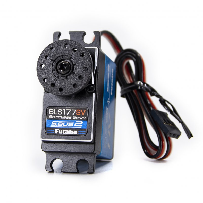 Image 0 of Futaba BLS177SV S.Bus Brushless Hi-Torque Metal Gear Servo .11sec/513.9oz