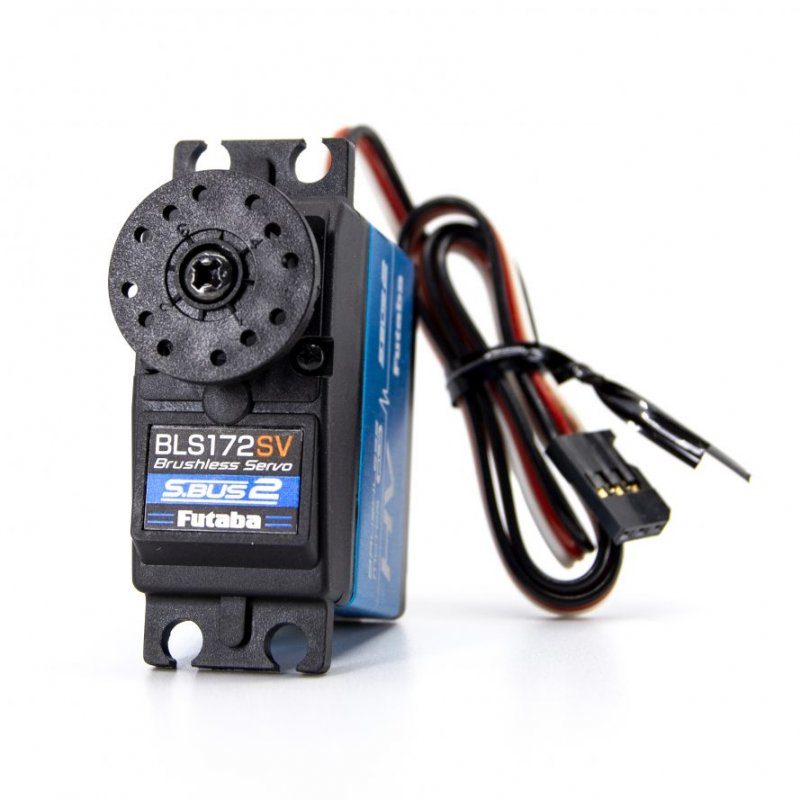 Image 0 of Futaba BLS172SV S.Bus Brushless Hi-Torque Metal Gear Servo .11sec/513.9oz @ 7.4V
