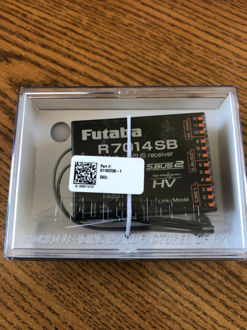 Image 0 of Futaba R7014SB 2.4GHz FASST S.Bus High Voltage Receiver