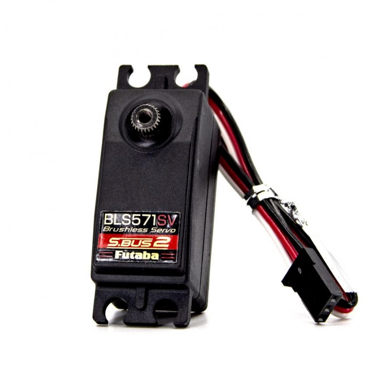 Image 0 of Futaba BLS571SV S.Bus Brushless Low Profile Metal Gear Surface Servo .08sec/152.