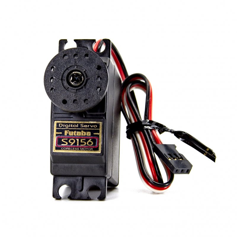 Image 0 of Futaba S9156 Digital Coreless High Torque Metal Gear Servo .17sec/340oz @ 6V