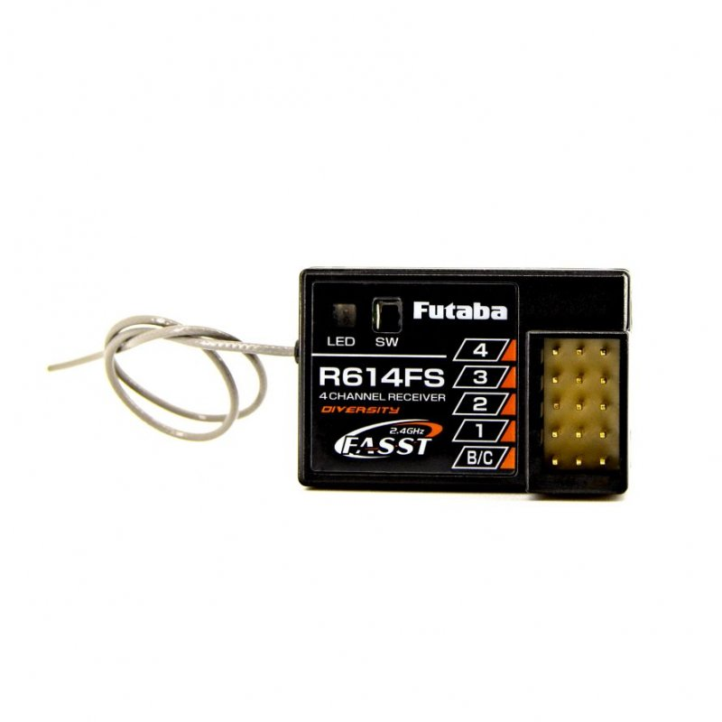 Image 0 of Futaba R614FS 2.4GHz FASST 4-Channel Receiver