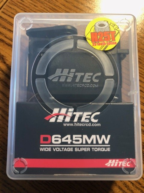 Image 2 of Hitec D645MW 32-Bit, High Torque, Metal Gear Servo (Lot of 2)