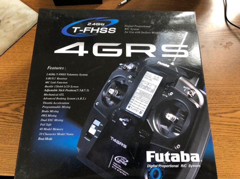 Image 1 of Futaba 4GRS 2.4GHz T-FHSS Surface Radio System w/ R304SB Receiver