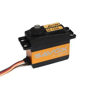 Image 0 of Savox 1256TG Standard Size Coreless Digital Servo .15/277 @ 6V