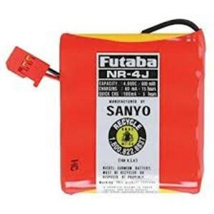 Image 2 of Futaba NR-4J 600mAh Flat Receiver Battery Pack (4-Cell)