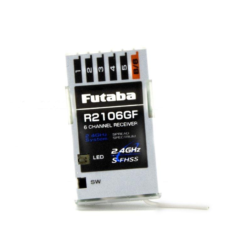 Image 1 of Futaba R2106GF 2.4GHz S-FHSS 6-Channel Micro Receiver